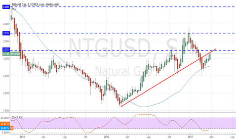 NTGUSD: Natural gas : long fino a inversione