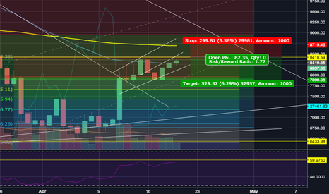 BTCUSD: Reaching RSI and EMA resistance