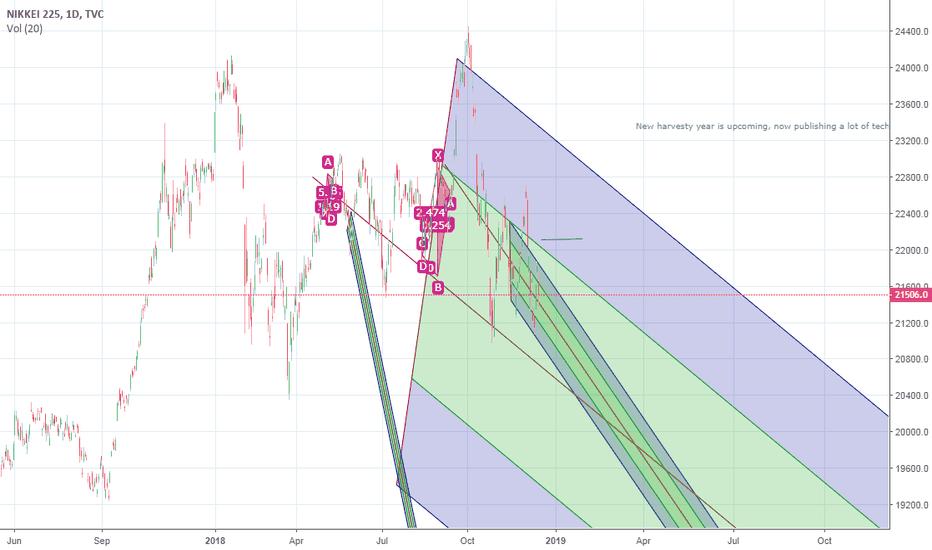 NI225: Nikkei falling to rasie in a loud way next year as we (me) hope