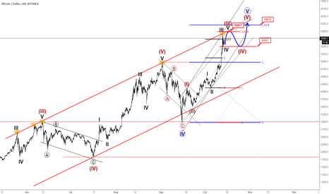 BTCUSD: BITCOIN: First Minimum Target/Top Projection