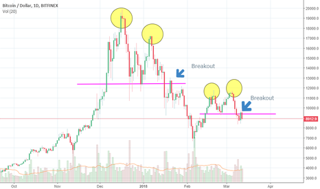 BTCUSD: Bitcoin (BTC) double top again !