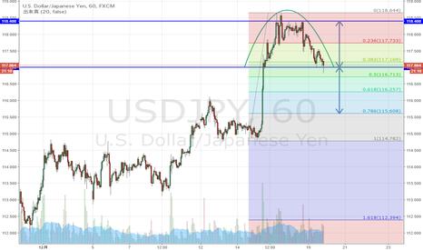 USDJPY: ドル円 ソーサートップ完成か。