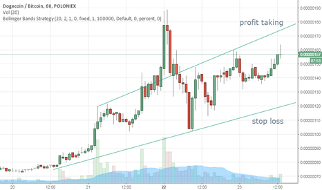 DOGEBTC: Buy DOGE/BTC and follow the target