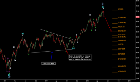 CL1!: Daily Wave Count for Crude Oil