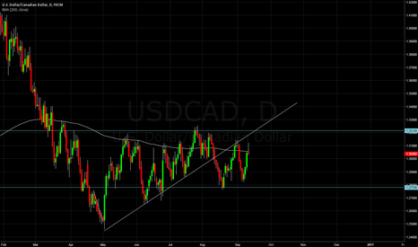 "USDCAD: USDCAD forming ""W"" formation"
