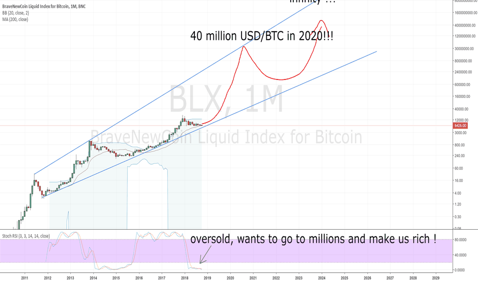 BLX: TA for the mentally retarded: BTC to 40 million USD by 2020 !!!!