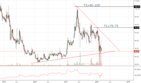 BHUSANSTL: Bhushan Steel. Forming Triangle
