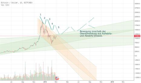 BTCUSD: BTC USD Finex 1-Day, Ausblick bis 2019, Wohin geht es?