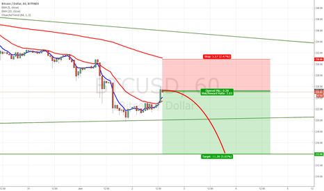 BTCUSD: Bitcoin Dead Cat Bounce Short