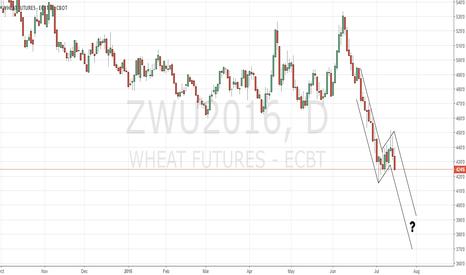ZWU2016: CBoT wheat still keeping us uncertain.