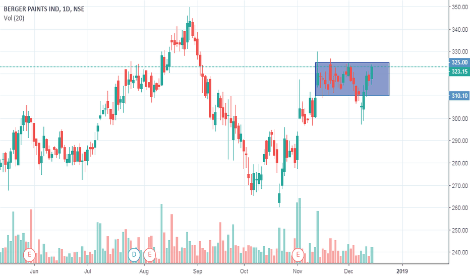 BERGEPAINT: Go Long on Berger Paints above 325