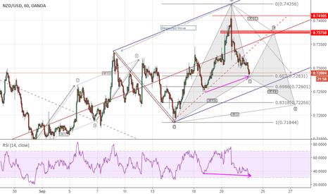 NZDUSD: Kiwi Dollar + Gartley Pattern (Adv) = Symmetry!