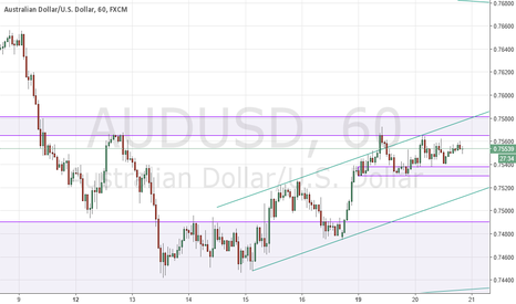 AUDUSD: AUDUSD flagging into FOMC