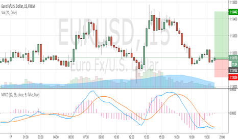 EURUSD: E/U Long Just for me
