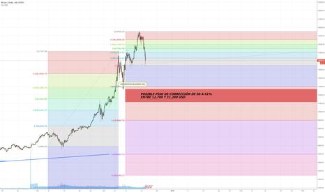 BTCUSD: Corrección de Bitcoin - USD