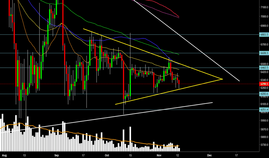 XBTUSD: Has THE road to HELL Started or  BULLS ARE still IN THE HOUSE ?