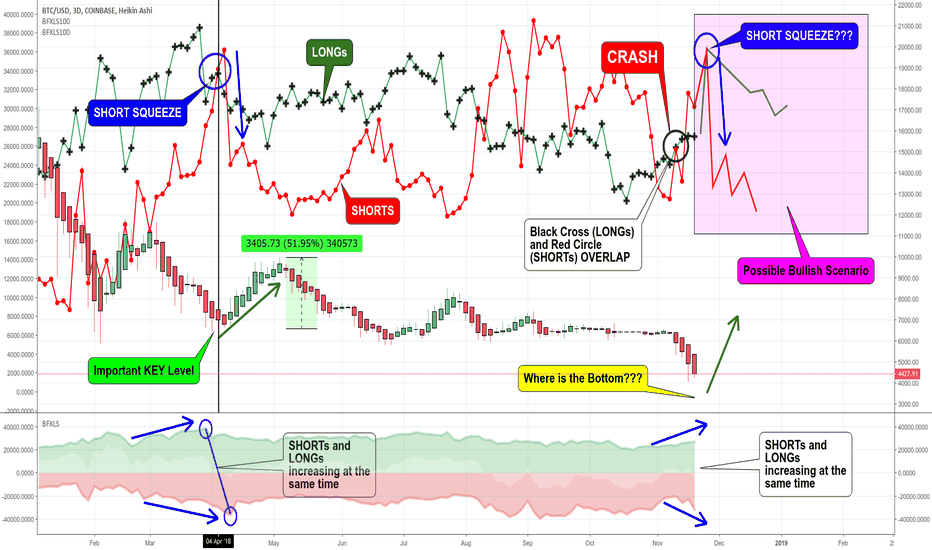BTCUSD: BITCOIN. Is a SHORT SQUEEZE a possibility for the NEXT BULL RUN?