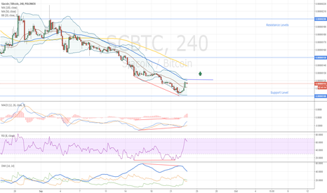 SCBTC: Siacoin Double Bullish Divergence