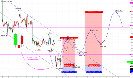 USOIL: CL1!/USOIL/WTIUSD Small Elliott2 & Higher High & Alt Bat Bullish