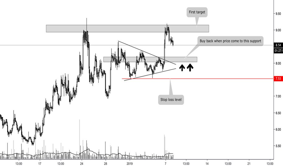 NEOUSD: NEO - Buy zone strategy with stop loss level