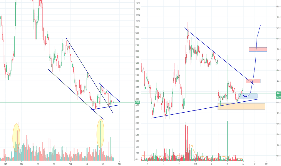 BCHUSD: BCH Bitcoin Cash, Long Term Low Set?
