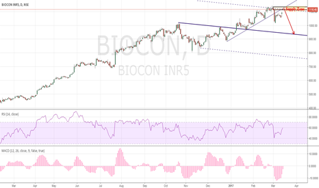 BIOCON: Biocon Potential short Action/Reaction