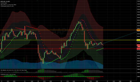 AAPL: AAPL possible near term trend