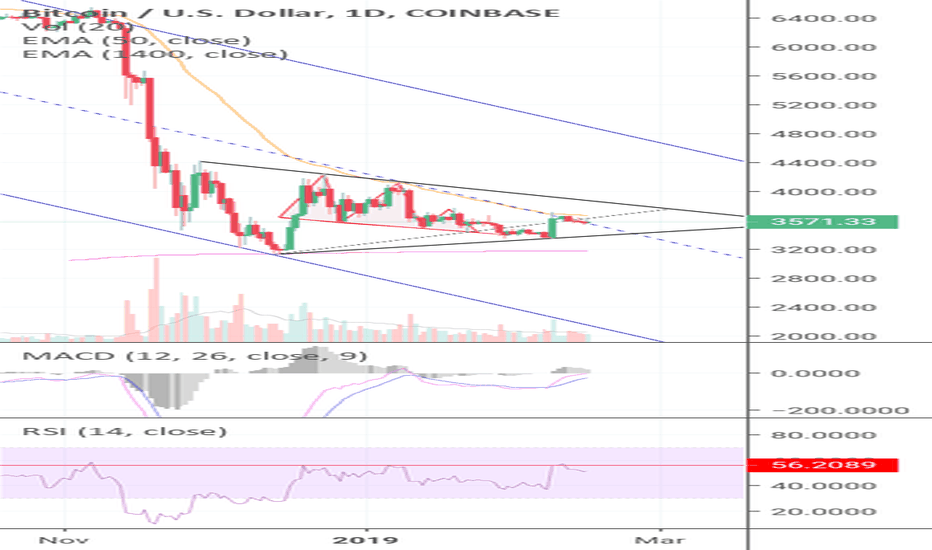 BTCUSD: Bitcoin Struggles At The 50 EMA, Here's What We Know! (BTC)