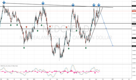 NZDCAD: NZD/CAD Long Term Short