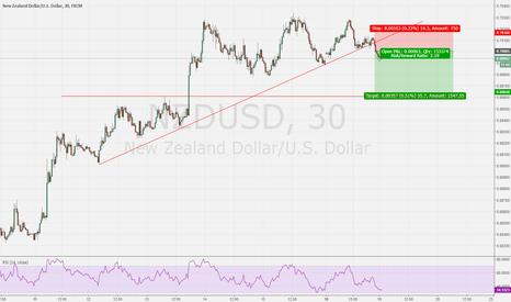 NZDUSD: NZDUSD Going Short