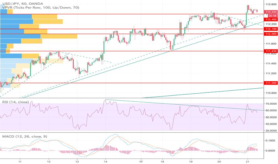 USDJPY: ドル円は上昇基調継続か