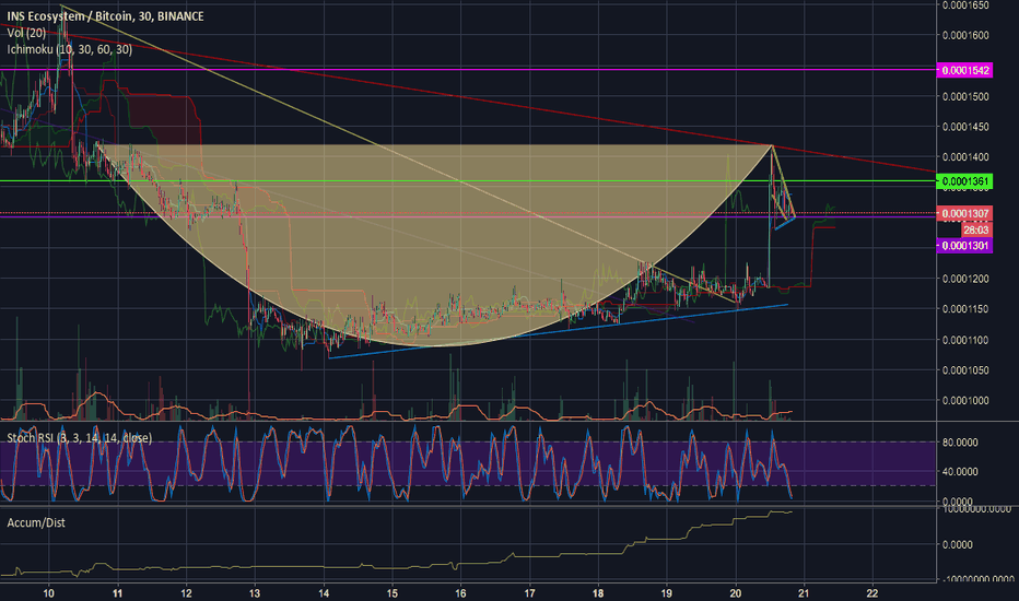 INSBTC: $INS Update: Could be headed for bigger gains