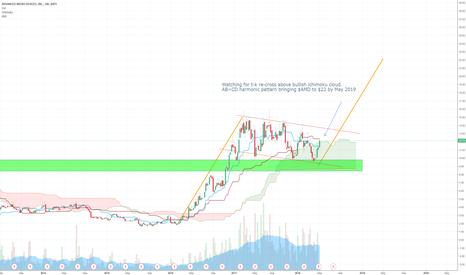 AMD: $AMDUSD - Bullish: My target $22 by May 2019
