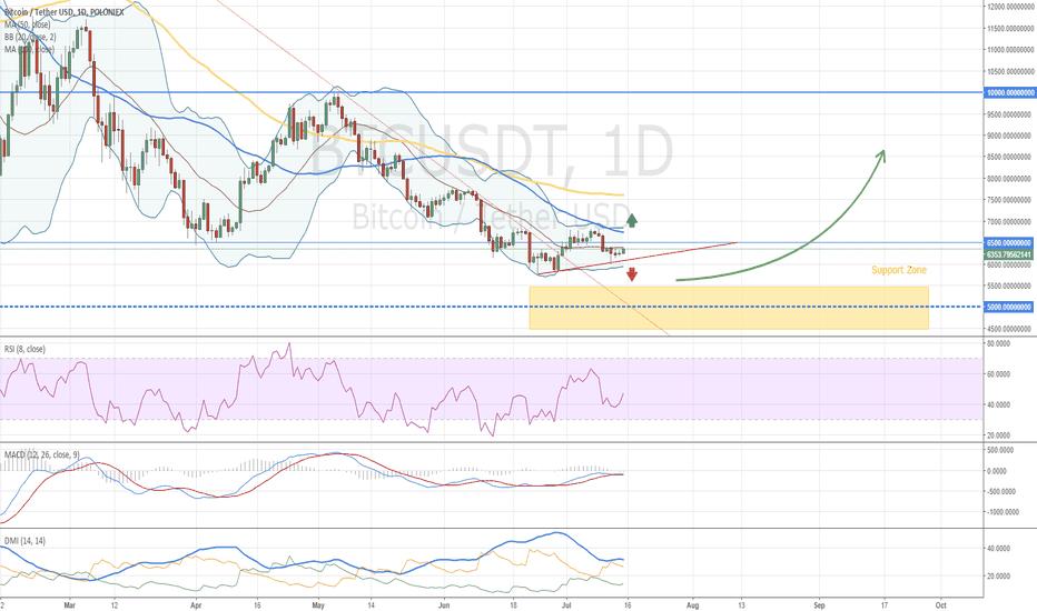 BTCUSDT: Gone fishing with my buddy Bitcoin - BTC Market Overview