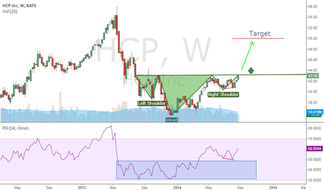 HCP: HCP Testing its neckline