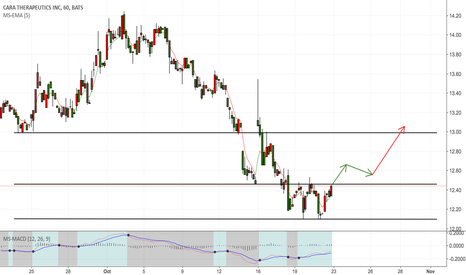 CARA: form the strong trend support in the new low point