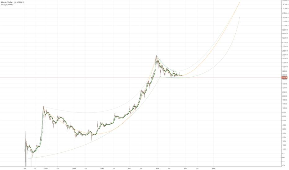 BTCUSD: BTC past 4 years, future 4 years