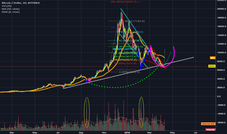 BTCUSD: Adam and Eve Bottoms. History Repeating (long term)