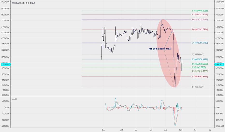 XMRUSDSHORTS: Volatility Showcase: XMR SHORTS