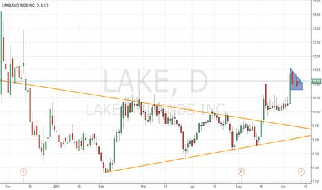 LAKE: Bull flag