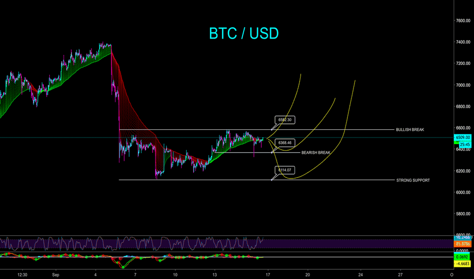 BTCUSD: BITCOIN SHORT TERM LIVE VIEW - CryptoManiac101
