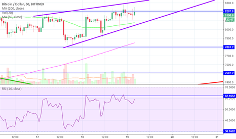 BTCUSD: BTC Preparing to Go Down for the Weekend