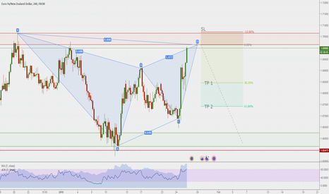 EURNZD: Gartley completato su H4
