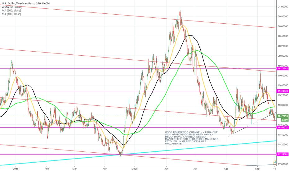 USDMXN: TARGET USD/MXN