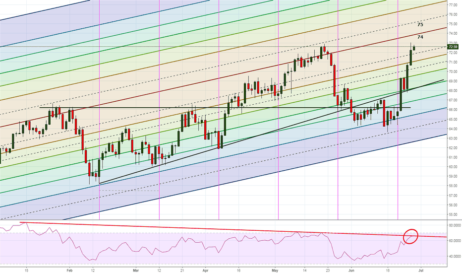 USOIL: Moment of truth for the WTI