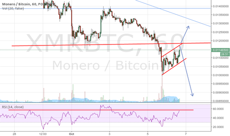 XMRBTC: XMR UP or DOWN