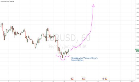 EURUSD: Бычий паттерн по евро. На взлёт!