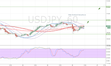 USDJPY: Dollar should just keep going up
