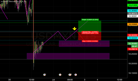 USDMXN: Technical Analysis From A Noob Trader