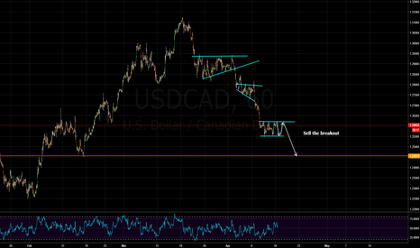 USDCAD: trend continuation trade
